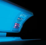 Inside Ergoline 250 Tanning Bed